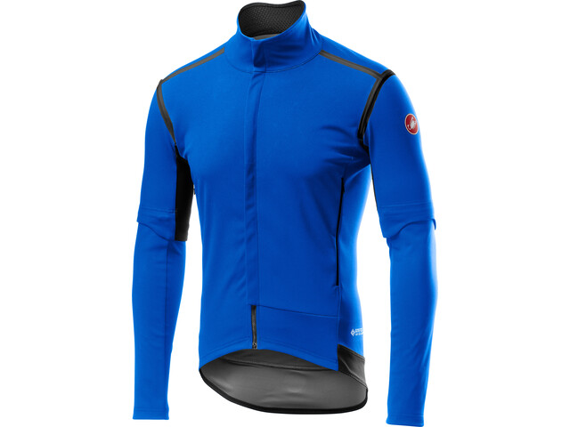 Castelli Perfetto RoS Convertible Jacket Men drive blue